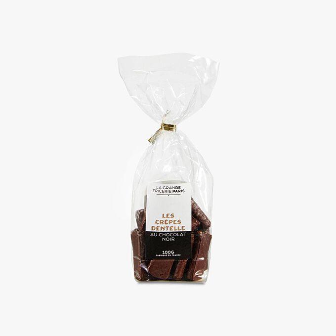 Crêpes dentelle au chocolat noir La Grande Épicerie de Paris