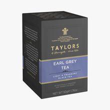 Thé noir aromatisé à la bergamote - 20 sachets Taylor's of Harrogate