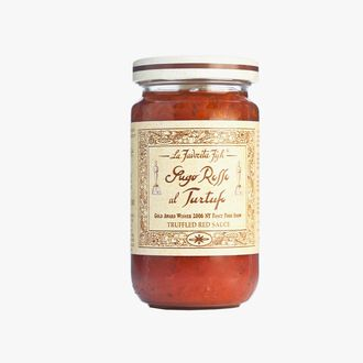 Red sauce with 3.5 % white summer truffle La Favorita