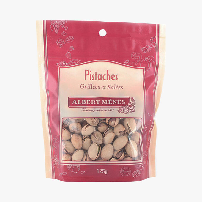 Toasted and salted pistachio nuts Albert Ménès