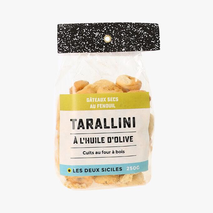 Tarallini au fenouil Les deux siciles