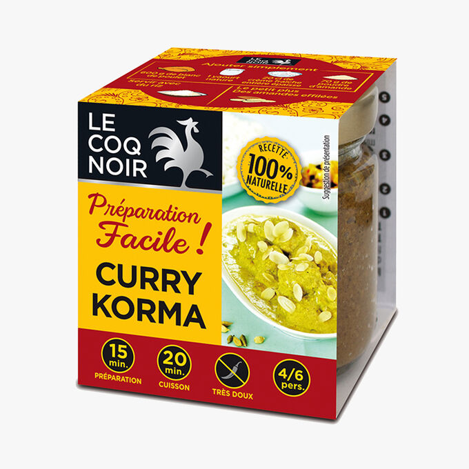 Easy korma curry sauce Le Coq Noir
