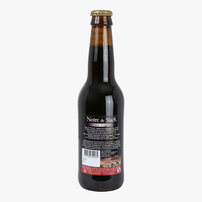 Bière noire de Slack Christophe Noyon