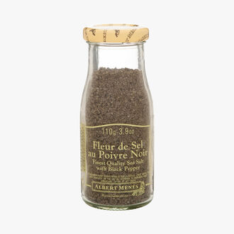 Fleur de sel with black pepper Albert Ménès