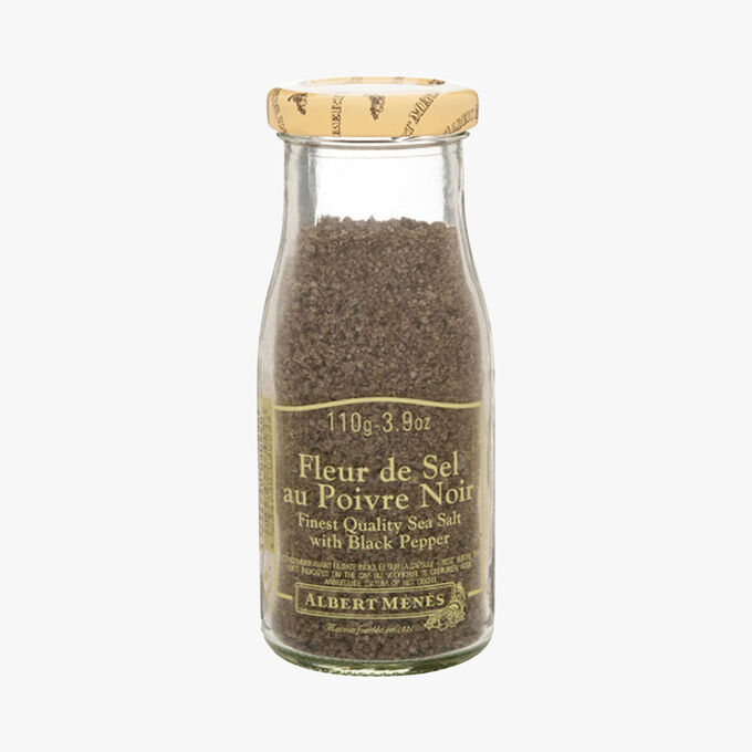 Fleur de sel with black pepper Albert Ménès