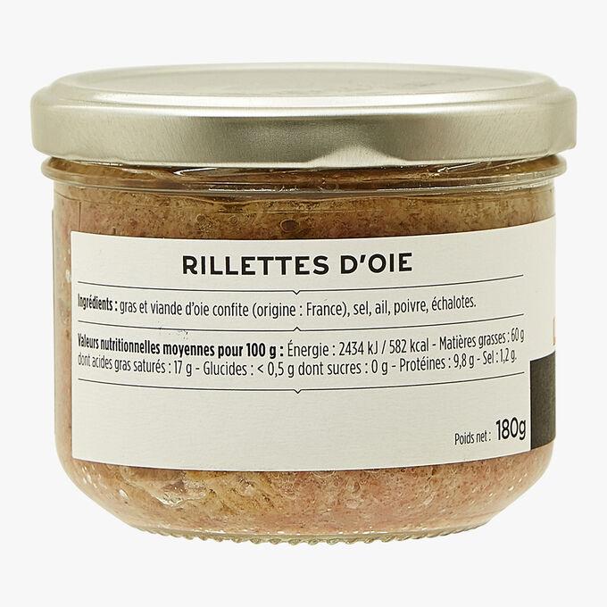 Les rillettes d'oie La Grande Épicerie de Paris