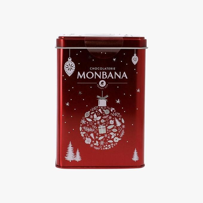 Chocolat en poudre de Noël aromatisé pain d'épices Chocolaterie Monbana
