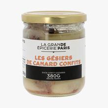 Confit duck gizzards La Grande Épicerie de Paris