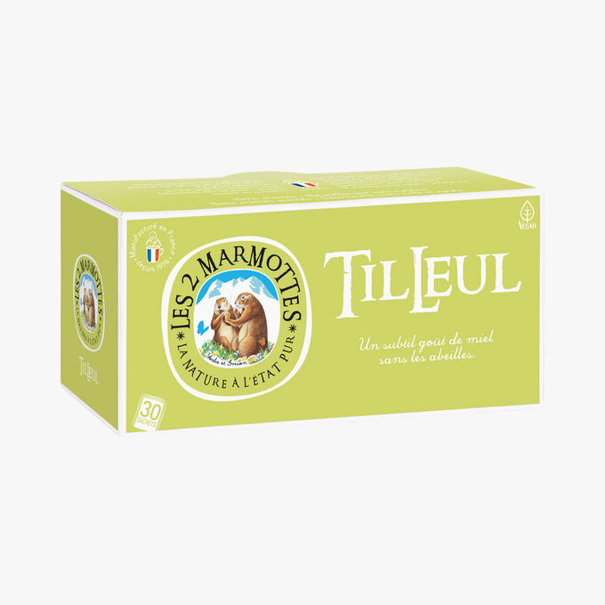 Infusion Tilleul Les 2 Marmottes
