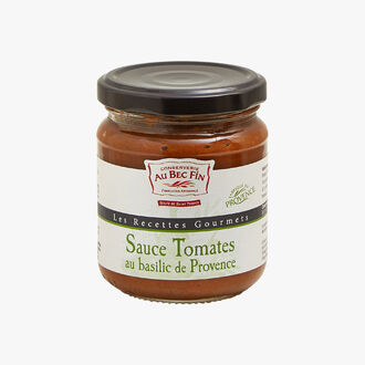 Sauce tomates au basilic de Provence Au Bec Fin