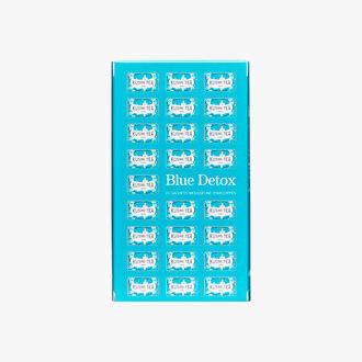 Blue Detox, assortment of 24 enveloped muslin teabags Kusmi Tea