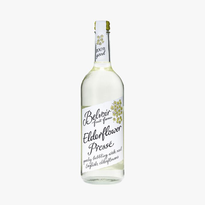 Elderberry flower lemonade Belvoir