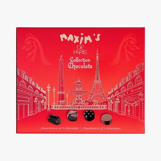 Assortiment de 8 chocolats Maxim's