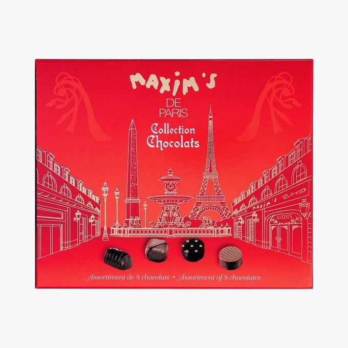 Assortiment de 8 chocolats Maxim's