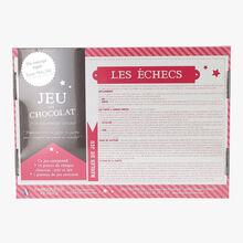 Les échecs - Jeu en chocolat pur beurre de cacao Daniel Mercier