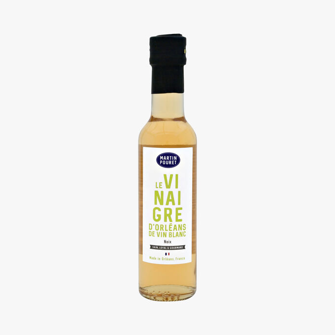 Orleans white wine vinegar flavoured with walnuts Martin Pouret