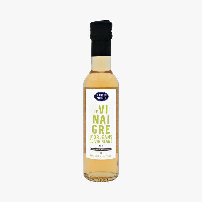 Vinaigre d'Orléans de vin blanc aromatisé à la noix MARTIN POURET