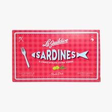 Sardines à l'huile d'olive extra vierge La Guildive