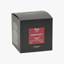 Jardin Bleu perfumed black tea - Box of 25 teabags Dammann Frères