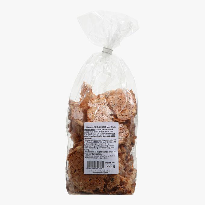 Crispy walnut biscuits La Craquanterie