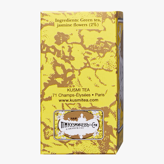 Thé vert jasmin boîte de 20 sachets  Kusmi Tea