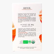 Organic South African detox, box of 20 muslin teabags Palais des Thés