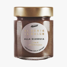 Alla Gianduia, crème de noisette et cacao Al dente la salsa