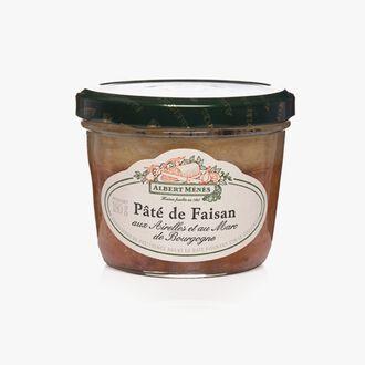 Pâté de Faisan aux Airelles et au Marc de Bourgogne Albert Ménès