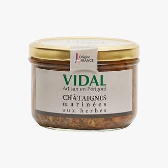Châtaignes marinées aux herbes Vidal