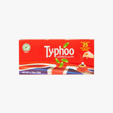 Sachets de thé Typhoo