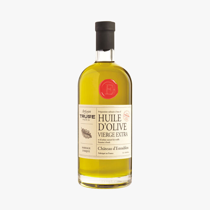 Huile d'olive arôme truffe noire, Château d'Estoublon x Artisan de la Truffe 1L Artisan de la truffe