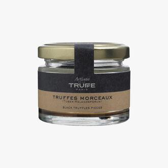 Truffe noire morceaux Artisan de la truffe