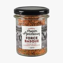 Basque strength, fleur de sel and Espelette chili MAISON AROSTEGUY