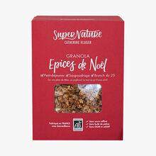 Granola, Épices de Noël SuperNature Catherine Kluger