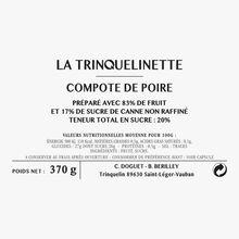 Pear compote La Trinquelinette