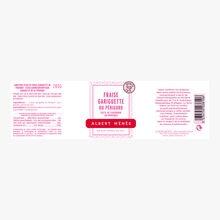 Confiture extra de fraise gariguette du Périgord Albert Ménès