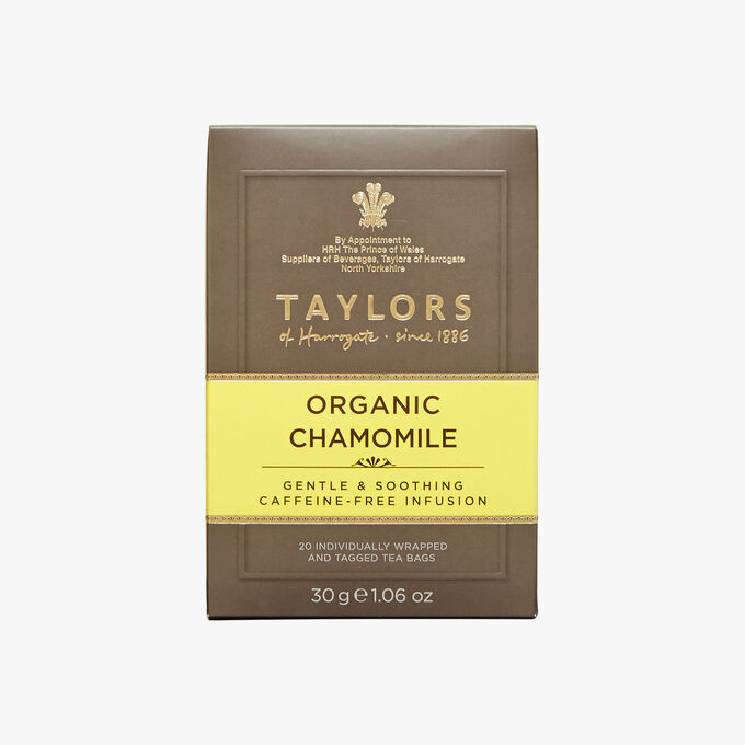 Infusion de camomille bio Taylor's of Harrogate
