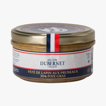 Pâté de lapin aux pruneaux 30% de foie gras Maison Dubernet