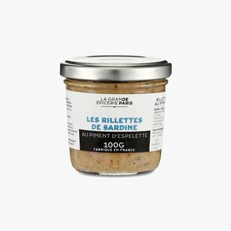 Sardine rillettes with Espelette chili La Grande Épicerie de Paris