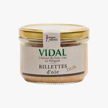 Goose rillettes Vidal