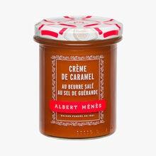 Crème de caramel au beurre salé au sel de Guérande Albert Ménès
