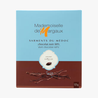 Dark chocolate twigs  Mademoiselle de Margaux