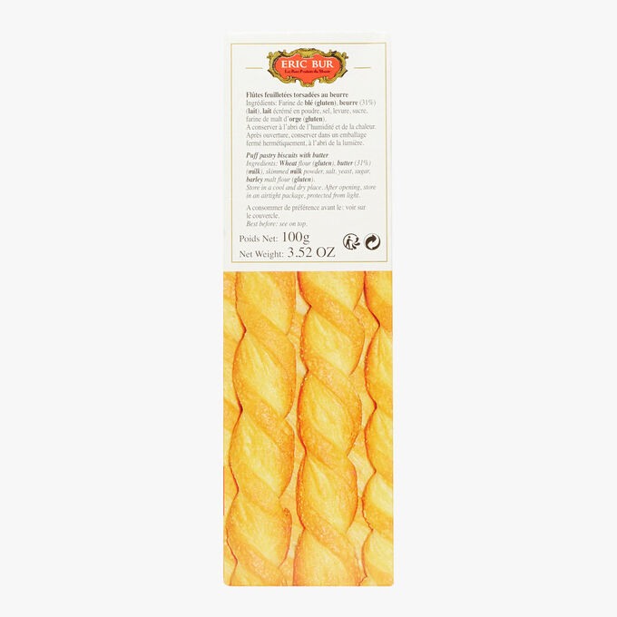 Puff pastry twists Eric Bur