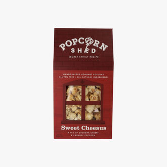 Popcorn Sweet Cheesus Popcorn Shed