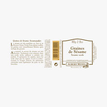 Graines de sésame Albert Ménès
