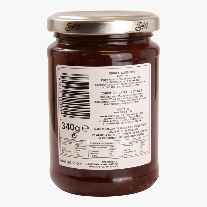 Confiture extra de coings Wilkin & Sons