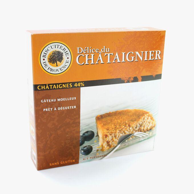 Gâteau aux châtaignes sans gluten Biscuiterie de Provence
