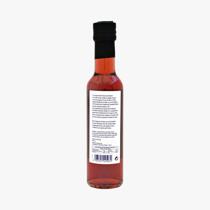 Orleans white wine vinegar with raspberry juice Martin Pouret