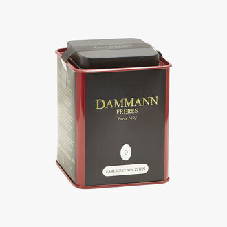 Thé noir parfumé Earl Grey Yin Zhen Dammann Frères