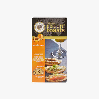 Biscuit toasts aux abricots Biscuiterie de Provence